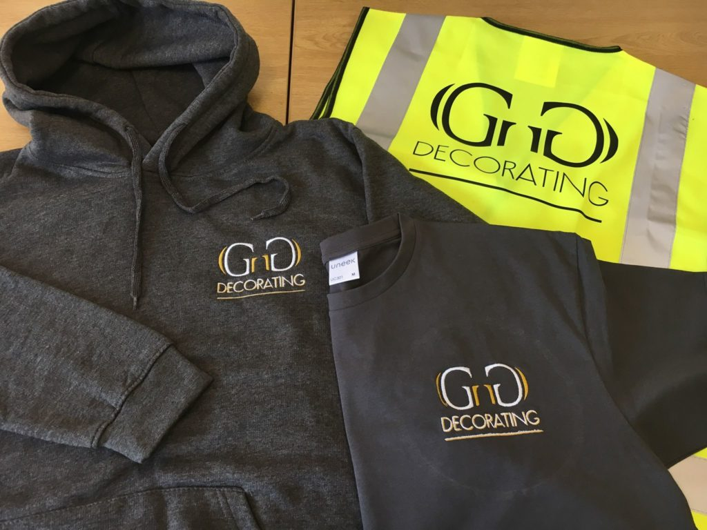 branded workwear | personalised embroidery
